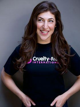 Mayim Bialik Supports Cruelty Free International