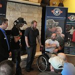 Bret Michaels Visits Wounded Warriors
