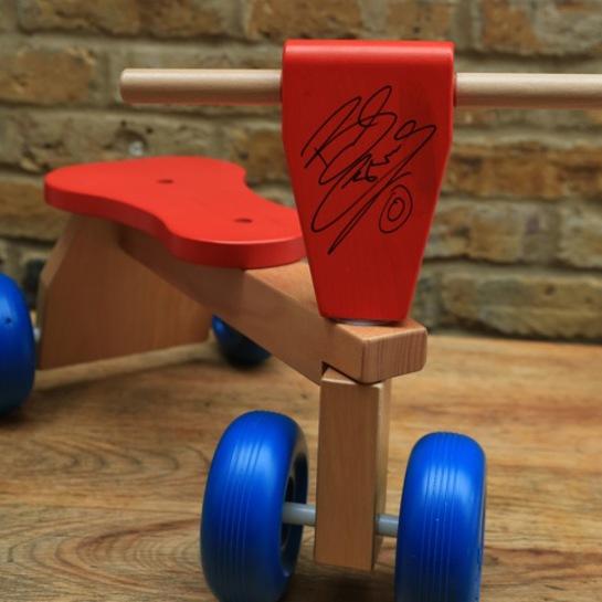 Galt Trike Signed By Bradley Wiggins