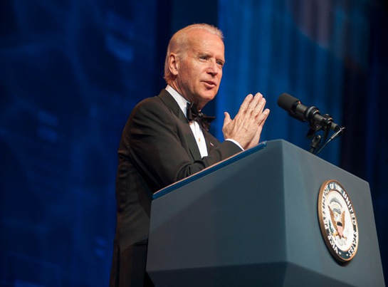 Joe Biden at HRC LA Gala