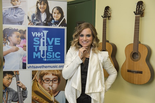 Platinum-selling recording artist, JoJo, performs at Vh1 SAVE THE MUSIC Family Day benefit at New York City's Anderson School sponsored by Alex and Ani