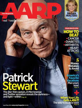 Patrick Stewart talks about Embracing his Troubled Past to find Light in the Darkness