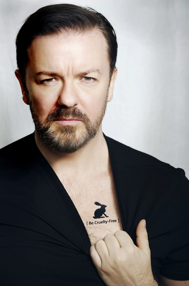 Ricky Gervais Supports Be Cruelty-Free Australia campaign