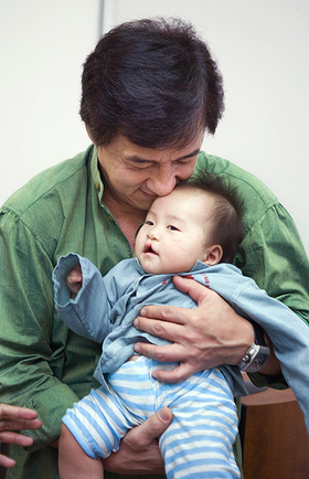 For almost two decades, Jackie Chan has helped to spread awareness for children suffering from cleft lip and cleft palate.