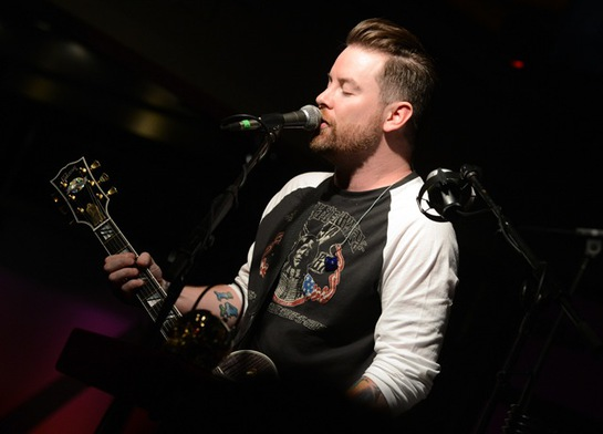 David Cook performs at the Soles4Souls charity concert