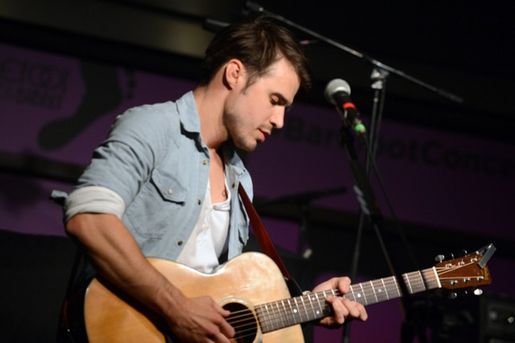 Kris Allen performs at the Soles4Souls charity concert