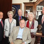 George H.W. Bush Receives Inaugural Award For Courage And Character