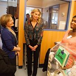 Niki Taylor Visits NewYork-Presbyterian/Morgan Stanley Children's Hospital