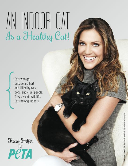 Tricia Helfer's PETA Ad