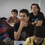 Orlando Bloom Visits Syrian Children