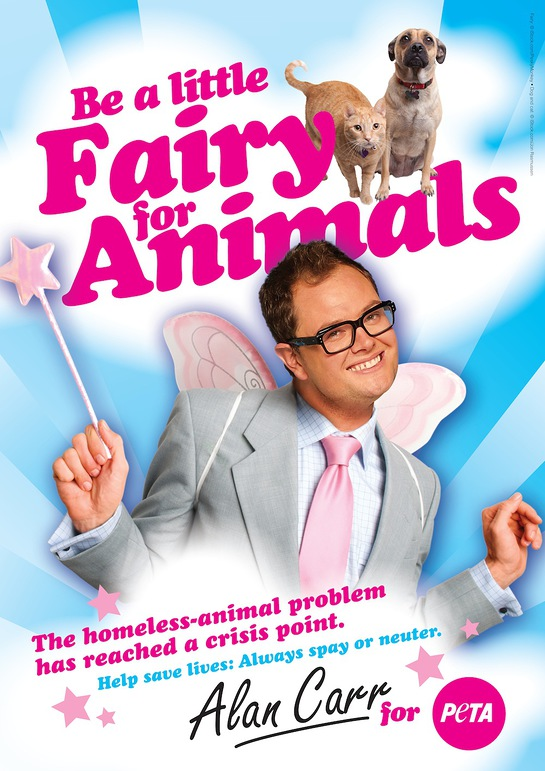 Alan Carr Is An Angel For Animals