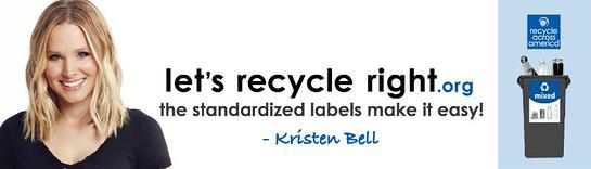 Earth Week 2014 - Recycle Across America Encourages Americans to Recycle Right