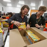 Florida Georgia Line Fights Hunger At Food Bank In NYC