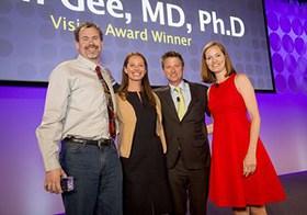 Dr. Allen Gee, Christy Turlington Burns, Jonathan Bush, Leslie Brunner