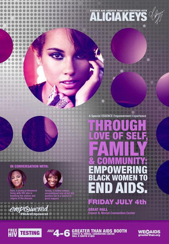 ESSENCE Empowerment Experience with Alicia Keys
