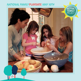 Angie Harmon - Active Family Project's National Family Playdate