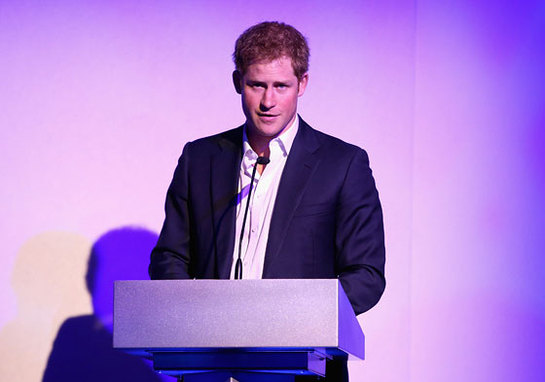 Prince Harry Talks At Sentebale Summer Party