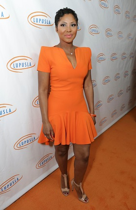 Toni Braxton at Lupus LA Orange Ball