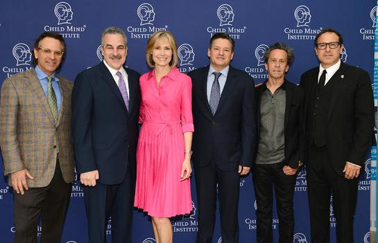 Jason Katims, Harold S. Koplewicz, Willow Bay, Ted Sarandos, Brian Grazer and David O. Russell
