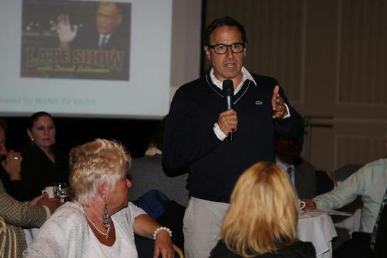 David O. Russell raised $150,000 for the Glenholme School's endowment fund and gymnasium expansion efforts