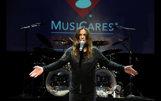 Ozzy Osbourne Honored By MusiCares