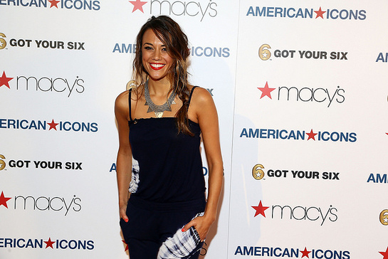 Jana Kramer at Macy's American Icons Event Benefitting Got Your 6