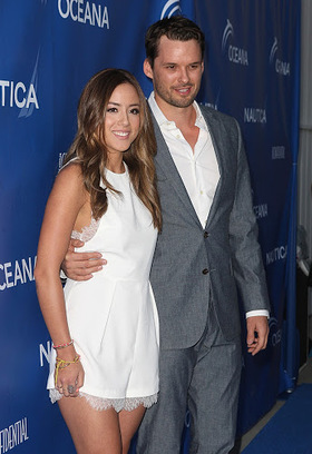 Austin Nichols and girlfriend Chloe Bennett