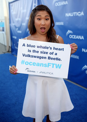 Jenna Ushkowitz at Oceana Party