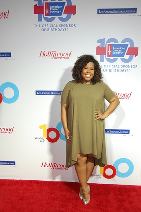 Amber Riley At American Cancer Society Ball