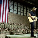 Brad Paisley Joins President Obama In Afghanistan