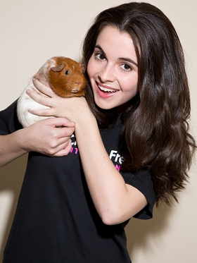 Vanessa Marano campaigns for cruelty free cosmetics in the United States