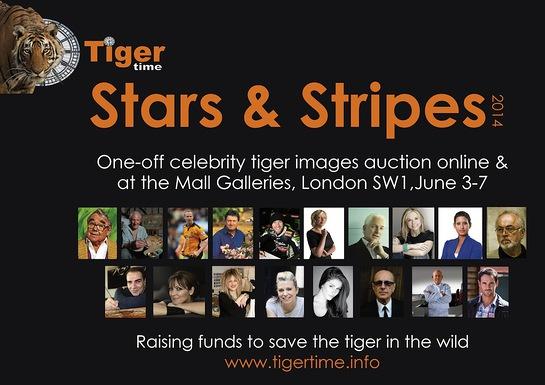 2014 Stars & Stripes celebrity art auction
