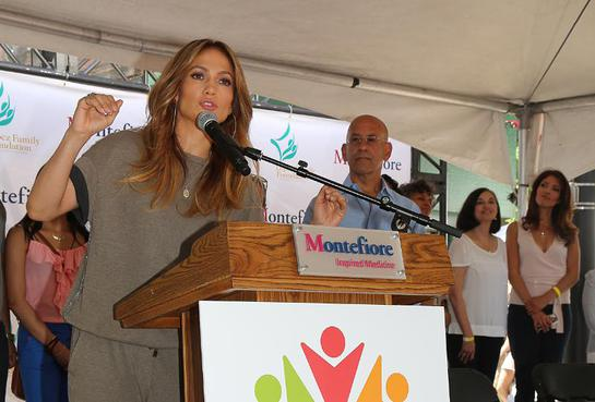 Jennifer Lopez launches The Center for a Healthy Childhood