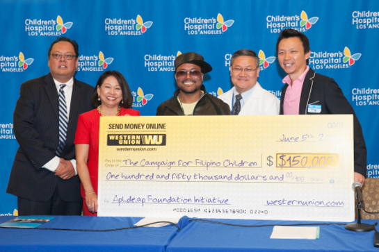 Ted Benito, Sonia Delen, Apl.de.ap, Thomas Lee, MD, and Bobby Fan, WesternUnion.com director of marketing.