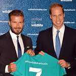 The Duke Of Cambridge And David Beckham Launch The #WhoseSideAreYouOnCampaign