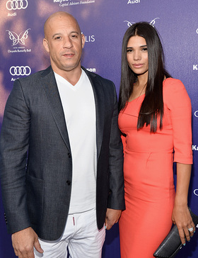 Vin Diesel and Paloma Jimene arrive at the 13th Annual Chrysalis Butterfly Ball