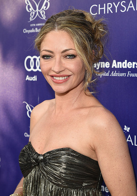 Chrysalis co-chair Rebecca Gayheart-Dane arrives at the 13th Annual Chrysalis Butterfly Ball