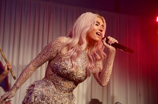 Ke$ha Performs At Pathway To The Cure