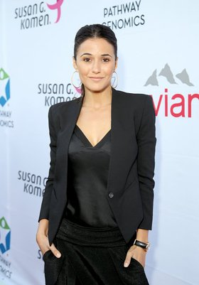 Emmanuelle Chriqui Attends Pathway To The Cure