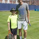 Andy Murray Makes Wish Come True For Young Boy
