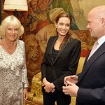 Duchess Of Cornwall Meets With Angelina Jolie To Discuss Helping Rape Victims