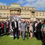 Prince Charles Attends Red Cross Garden Party At Buckingham Palace