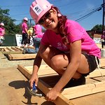 Stars Build Homes At Habitat For Humanity Power Women Power Tools Event