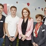 Sarah, Duchess Of York Helps Open Teenage Cancer Trust Unit