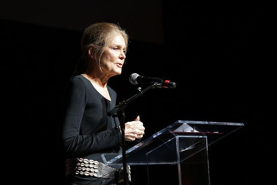 Legendary feminist activist Gloria Steinem