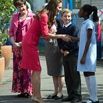 Duchess Of Cambridge Makes An M-PACT In London