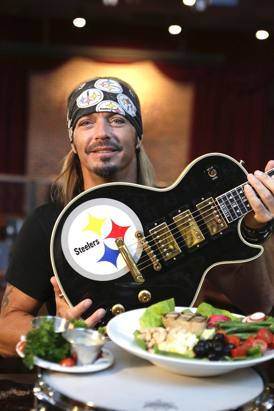 Bret Michaels celebrates his personal guitar donation to Hard Rock's world-famous memorabilia collection