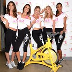 Victoria's Secret Models Host Charity Cycle