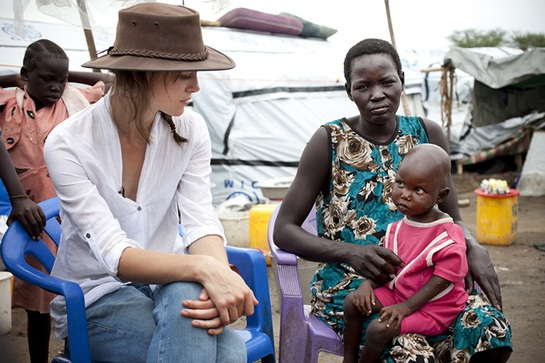 Keira Knightley In South Sudan