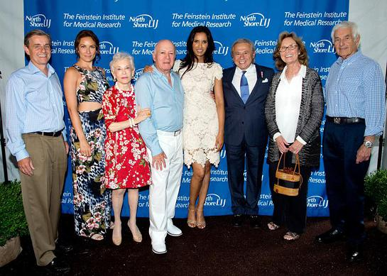 Dr. Kevin J. Tracey, Laura Benanti, Mr. & Mrs. Feinstein, Padma Lakshmi, Dr. Tamer Seckin, Mrs. and Mr. Zucker.